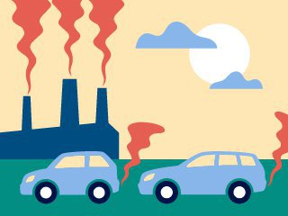 Air pollution worsens climate change