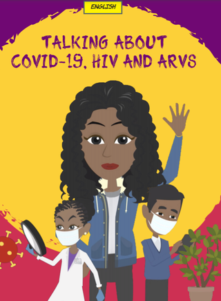 Fatima talks about COVID-19, HIV and ARVs cover