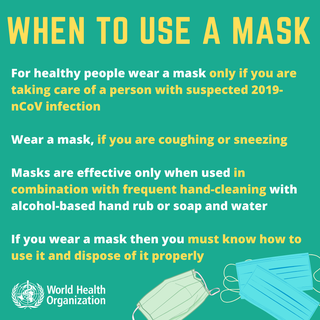 When and How to Wear a Mask